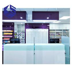 Visualizzazione medica del Governo della memoria di vendita del MDF della mobilia calda del negozio