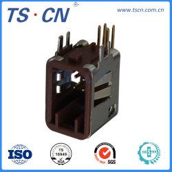 Selbststecker-elektrischer Draht, zum Schaltkarte-des rechtwinkligen Vorsatz-Verbinders zu verschalen