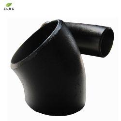 L'ASME coude du tuyau sans soudure en acier au carbone 45 degré Buttweld