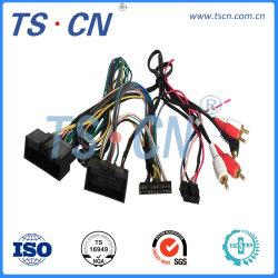 USB Wringt de Audio van de rca- Auto Kabel van de Draad van de Uitrusting de Automobiel