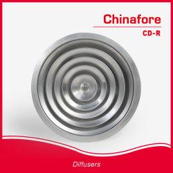 Трубопровод системы отопления потолок раунда диффузоров с круглой решетки воздуха круглый диффузор