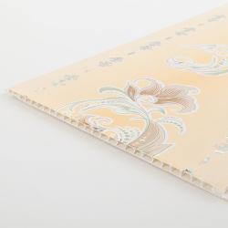Nuovo soffitto materiale del PVC della decorazione interna di disegno del grano di legno