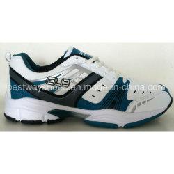 Homens calçado desportivo de moda calçado de couro PU