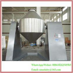 Baixa temperatura de secagem a vácuo Máquina/ AISI 304 /316L Cone Duplo Vácuo rotativo secador para comida de Secagem/Químico/Medicina em pó/partículas