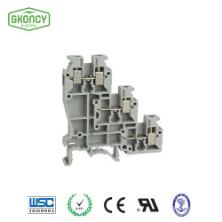 3 niveaux de l'actionneur du capteur de blocs de jonction Dinrail / Connexion à vis