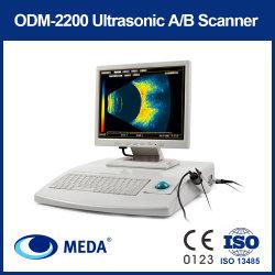 큰 스크린 (ODM-2200)를 가진 안과학을%s 고품질 B 검사 초음파 a/B 검사
