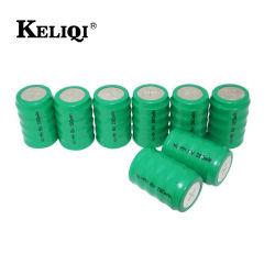 6V 280mAh NiMH nachladbare Tasten-Zellen-Batterie