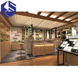 Shopping Mall Armário do Visor de Vidro do Visor de Vidro Cosméticos Showcase