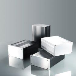 De Muur van het Geval van het aluminium zet de Doos van de Steunen van de Chassis van de Bijlage voor Motherboard mini-Itx op