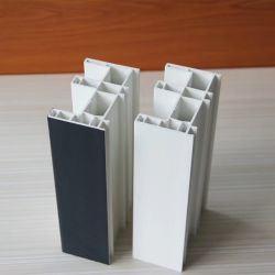 Пвх профиль для раздвижных окон и дверей, белого цвета