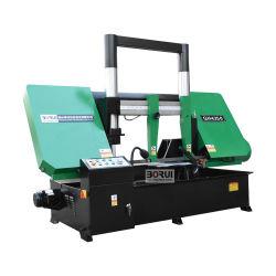 Gh4250 GH4280 doble columna económica Semi-automático de corte horizontal de metal de la banda de la máquina de la sierra