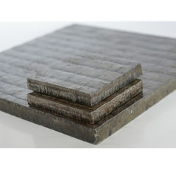 58-65HRC高いクロムの炭化物オーバーレイ摩耗の版のボールミルはさみ金