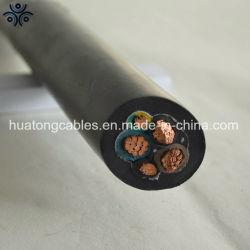 H07rn-F電気ワイヤー銅のゴムによっておおわれるケーブル3G1.5mm2 3G 2.5mm2