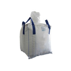 Generador de Big Bag 1 Ton Ton Mayoreo bolsas tejidas de polipropileno bolsas de arena del suelo el polvo mineral de carga