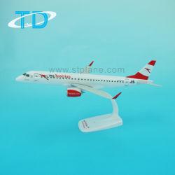 L'artisanat en plastique 26cm autrichien ERJ-195 Modèle d'avion pour la vente