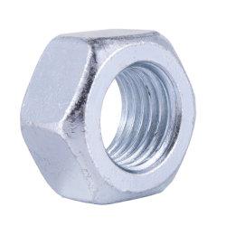 DIN934-zingage Acier au carbone de l'écrou hexagonal