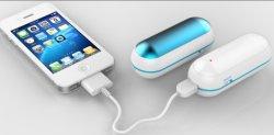 Рождественский подарок аккумулятор стороны подогреватель детского питания с питанием от USB Банка