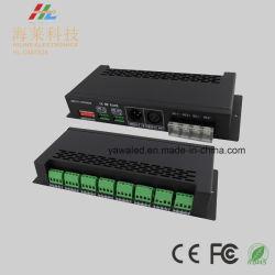 3A da 24 decodificatori 12-24VDC dei canali DMX512