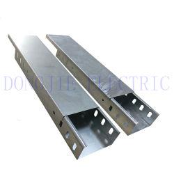 L'aluminium acier inoxydable et acier galvanisé de goulottes de câbles de PRF