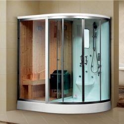 Profil de satin Al sauna à vapeur salle humide avec jets de massage (K9707)