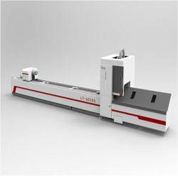 Tube carré en acier inoxydable / Tube métal Fibre de machine de découpe laser Chuck 20-230 pneumatique