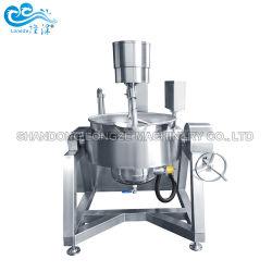 Olio termico automatico industriale dell'acciaio inossidabile 304 che cucina caldaia rivestita con il miscelatore