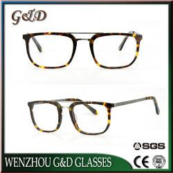 고전적인 황색 새로운 디자인 금속 도매 광학 프레임 Eyewear