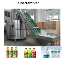 Haute capacité pleine Unscrambler automatique de la bouteille pour bouteille en plastique