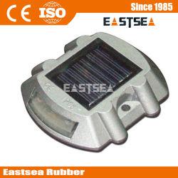 Plastique 6 Flash LED solaire Route Reflector