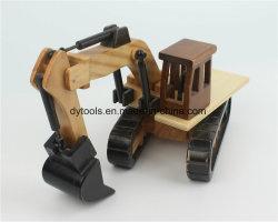 아이들 장난감 가정 훈장을%s 좋은 품질 그리고 절묘한 모양 Hand-Made 나무로 되는 기술 나무로 되는 선물 나무로 되는 제품 굴착기
