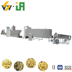 コンパクトなデザインのライスロール、パッフなしのレジャーフードエクストルーダーマシン / 軽食の食糧生産ラインは最もよい価格を puffed 食糧機械