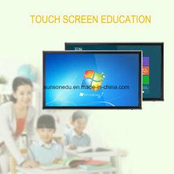 LCD Whiteboard Infrarood Interactive TV touchscreen gebruikt op school