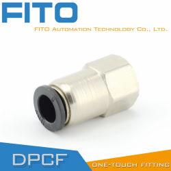빠른 연결 공압 Fitting PCF/PC/POC(중국 공장)