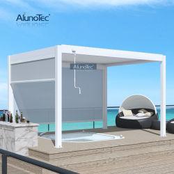 Alunotec OEM/ODM 3x3 3x4 Groothandel luifel dak Outdoor Pavilion luifel Outdoor Arches Louvered Aluminium Garden achtertuin Pergola Gazebo