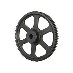 Rodillo de la rueda dentada de hierro fundido de métrica ANSI de doble cadena desmontable superventas de tono con la cavidad de stock de Kit de moto sin la llave de ruedas dentadas de hierro fundido
