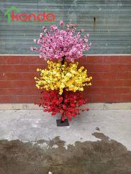 Custom Outdoor Fake Cherry Blossom Arbol artificial de flores de la huta