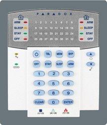 Alarm Host (K32)のための32ゾーンLED Display Keypad Module