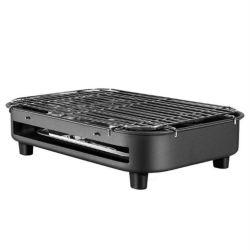 Cuisinière sans fumée multifonction 1300 W, table de cuisson, barbecue électrique coréen intérieur Barbecue intérieur réglable