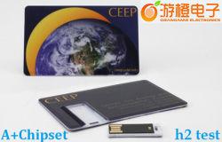 Disco del USB di stile della Tabella della carta di credito di modo (OM-P512)
