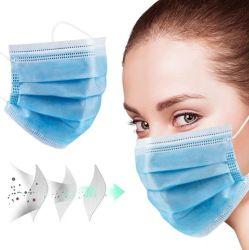 工場価格医学の外科Facemask 3つの層ファブリック使い捨て可能なマスクのマスクの製造業者