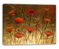 Flores decorativas Pintura al Óleo (DSC09869)