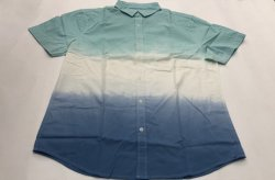 أزياء منسوج الصلبة كيد Ss Cotton قمصان الأولاد ملابس الأطفال يرتدي الأطفال