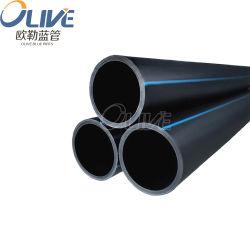 DN600 16mm irrigação PE revestidos de plástico do suprimento de água PE tubo100