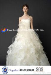 100% بوليستر فوي لثوب الزفاف