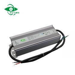 200W 300W 120V 277V 12V 24VDC étanche IP67 Driver de LED de puissance de LED à gradation