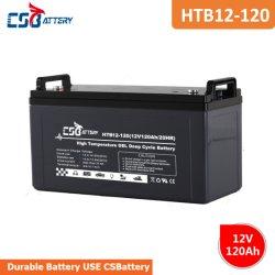 Csbattery 12V120ah tiefe Schleife-elektrische Gel-Batterie für UPS/Solar/Lighting/Telecom/Medical