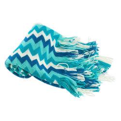 سعر الجملة جاكار اكريليك بطانية Knit