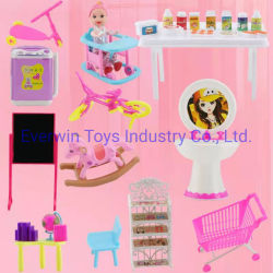 Groothandel Plastic Toy Doll Accessoires voor 1/6 Doll