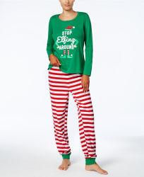 عيد ميلاد مجيد [بجهمس] نساء دافئة شتاء [كوت] نوم [بجهمس] مجموعات ملابس النساء الملابس الرجالية مضحكة المنزل الملابس