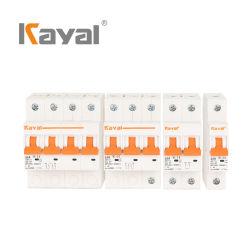 Kayal Venta caliente disyuntor miniatura de alta calidad 5-60UN MCB 1P 2P 3P 4p